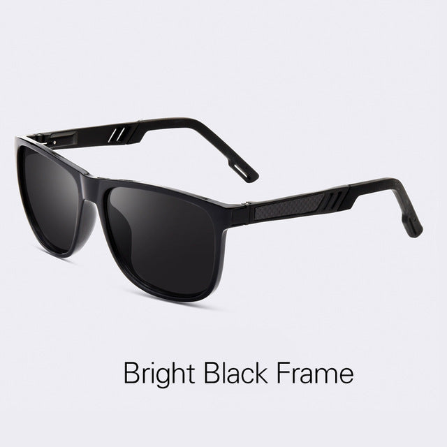 AOFLY BRAND DESIGN Classic Polarized Sunglasses Men Vintage Polaroid HD Lens Sun Glasses Male Square Driving Goggles UV400