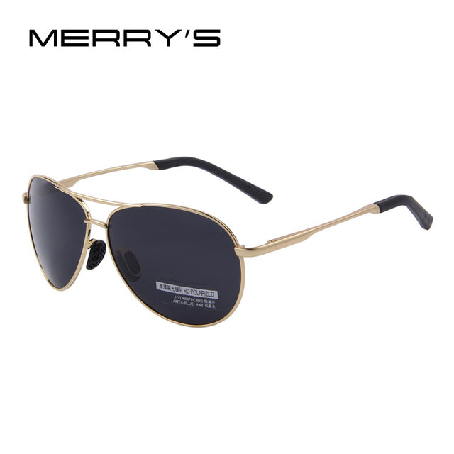MERRY'S Fashion Men's UV400 Polarized Sunglasses Men Driving Shield Eyewear Sun Glasses