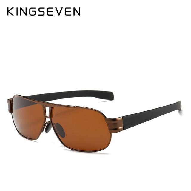 KINGSEVEN Fashion Driving Sun Glasses For Men Polarized sunglasses UV400 Protection Brand Design Eyewear High Quality