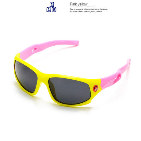 TR90 Flexible Kids Sunglasses Polarized Baby Boy Girls Sun Glasses Child Sunglass Infant Oculos Shades UV400 Brand Design