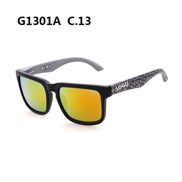 Super deal Brand designe ken block spiess sunglasses with logo men sports sunglasses UV400 male rock sunglasses oculos de sol 21