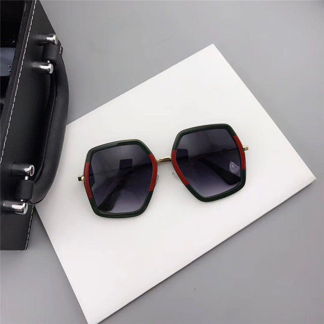 New Women Luxury Brand Design Crystal Square Sunglasses Retro Diamonds Sun Glasses Female Shades Sun Glasses