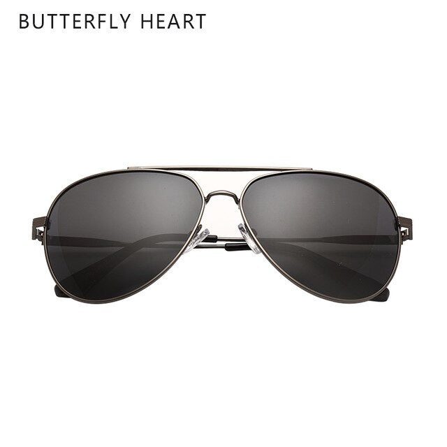 BUTTERFLY HEART 2020 sunglasses driving brand polarized sunglasses/men man women sunglasses men fashion on AliExpress
