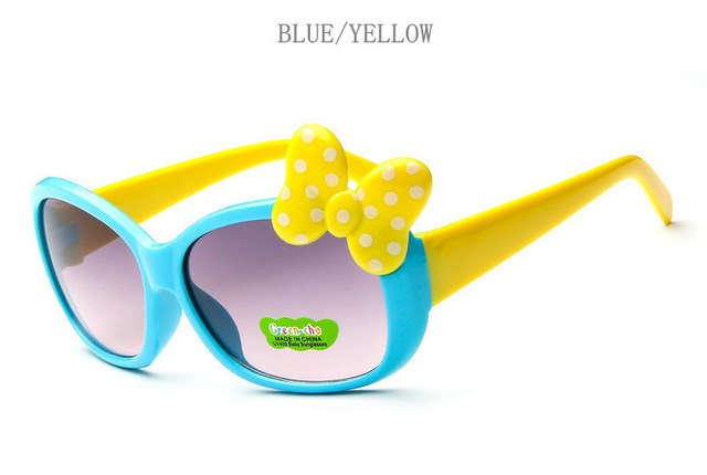 Children Goggle Girls Alloy Sunglasses Hot Fashion Boys Girls Baby Child Classic Retro Cute Sun Glasses