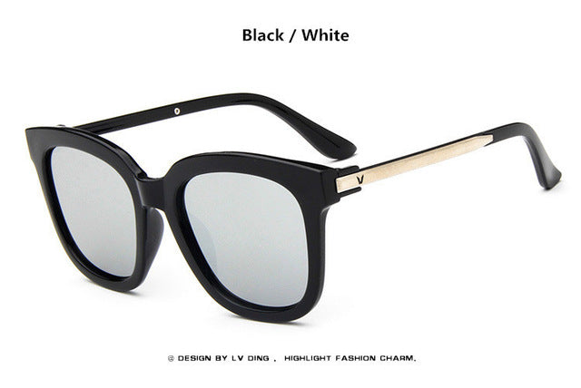 New Fashion New Sunglasses Women Brand Designer High Quality Big Frame Hot Vintage Ladies Sun Glasses 8 colors Oculos