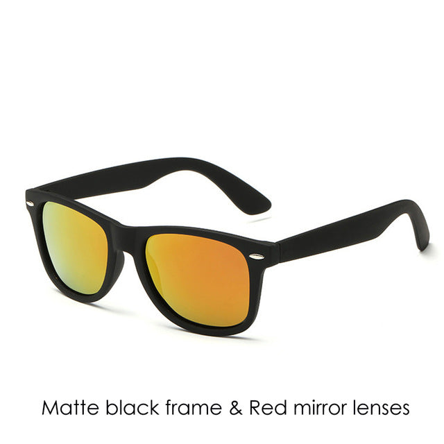 Pro Acme Polarized Men Sunglasses Driving Mirror Coating Points Black Frame Eyewear Male Sun Glasses UV400 Shades CC0734