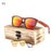 RTBOFY Sun Glasses For Men Square Wood Plywood Wood Sunglasses Women Brand Designer with Wooden Box shades Eyewear