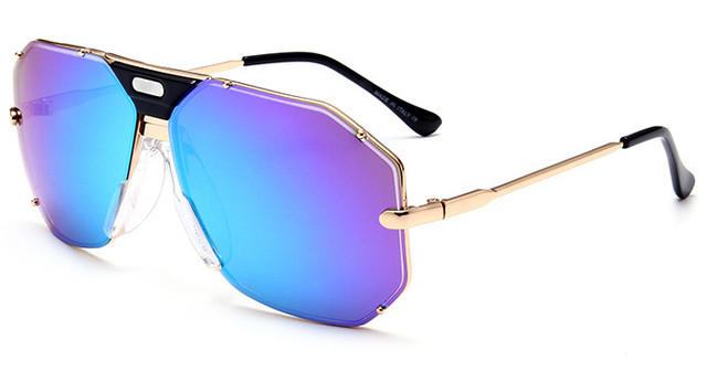 Newest Luxury sunglasses men brand Designer Unisex Gold Metal Chassis Male Glasses Quality Gradient Sun Glasses For Women CZ 905
