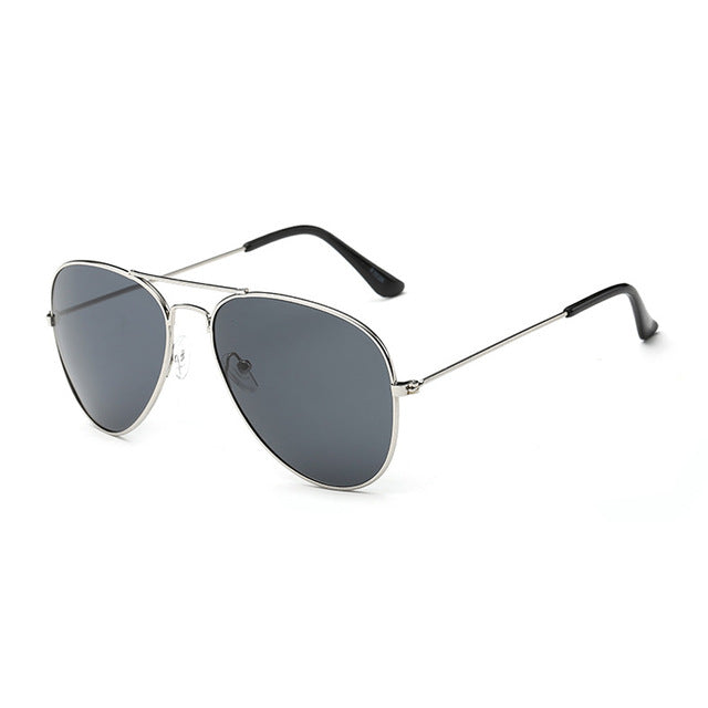 Brand Designer Oversized Pilot Oval Sunglasses Women Men Sun Glass Aviation Metal Frame Mirror Driving Female Glasses