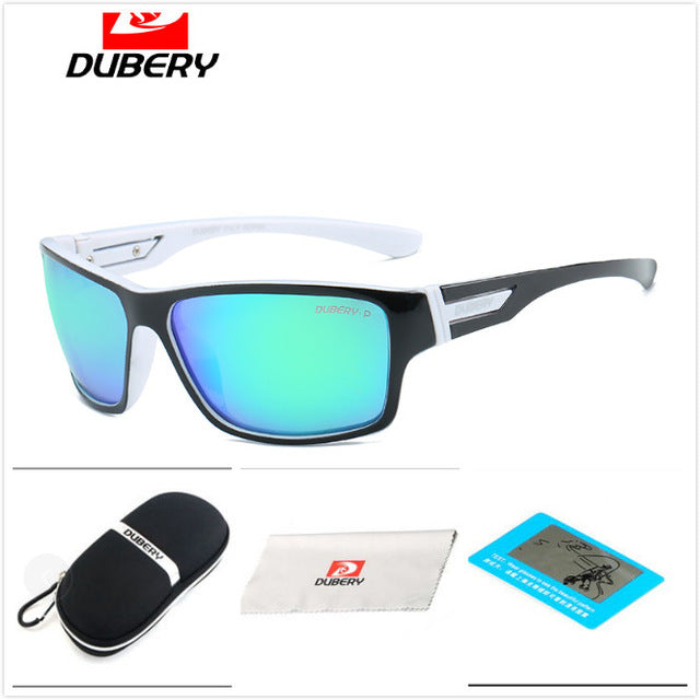 DUBERY Polarized Sunglasses Men Women Driving Sport Sun Glasses For Men High Quality Cheap Luxury Brand Designer Oculos