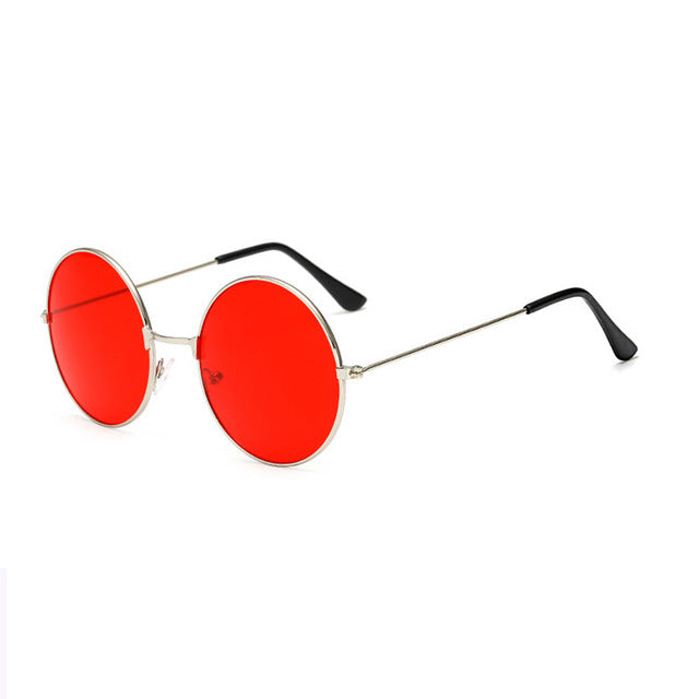 iboode Vintage Kids UV400 Sunglasses For Boys Girls Gafas Mirror Round Alloy Frame Sunglasse Retro Children Metal Eye Glasses