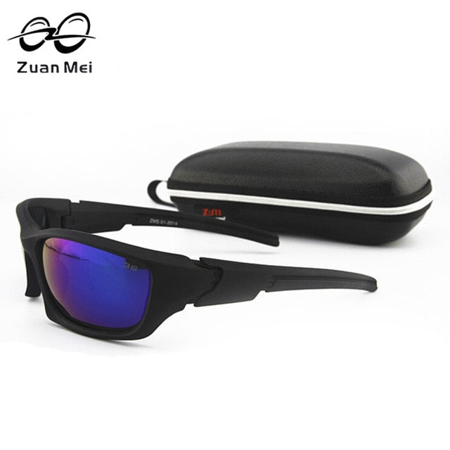 Zuan Mei Brand Night Vision Polarized Sunglasses Men Driving Sun Glasses For Women Hot Sale Quality Goggle Glasses Men ZMS-01