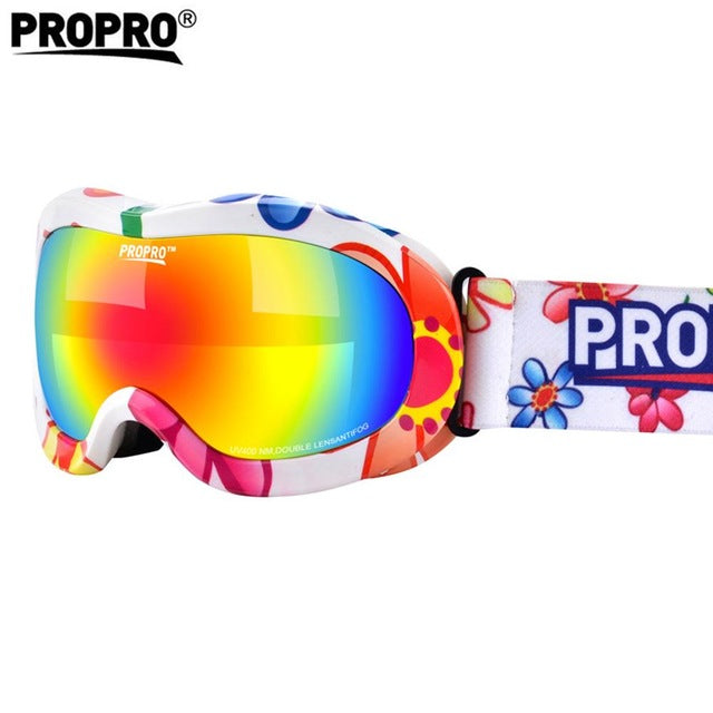 b300545db20 1 x Children Ski Goggles Double Lens Girls Boys Snowboard Skiing Glasses  Kids Winter Snow Skiing
