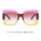 POLYREAL New Ladies Sunglasses Luxury Women Brand Designer Sexy Square Sun Glasses Sexy Female Shades For Party UV400