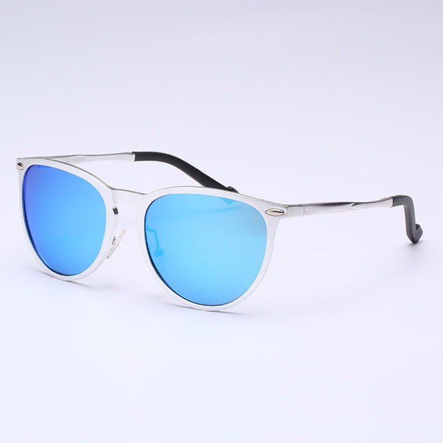 Aluminium Magnesium Polarized Sunglasses women men luxury Rivet Design brand retro sun glasses Male Oculos De Sol Masculino 4171