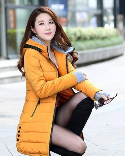 Winter Jacket Women Winter And Autumn Wear High Quality Parkas Winter Jackets Outwear Women-Jackets & Coats-Large Size Men Women Clothes Store-orange-S-MostlyShades.com