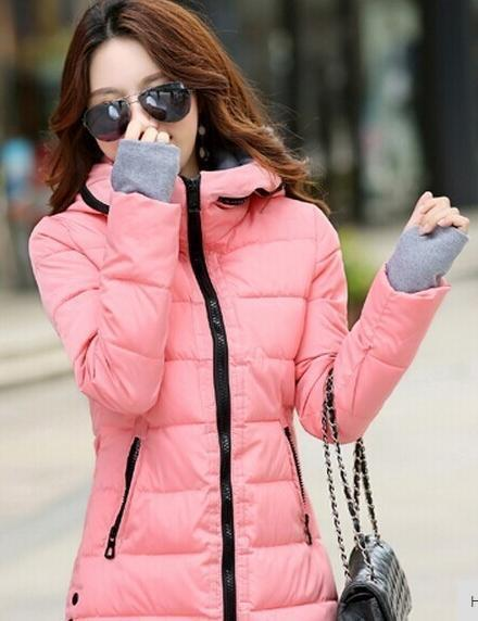 Winter Jacket Women Winter And Autumn Wear High Quality Parkas Winter Jackets Outwear Women-Jackets & Coats-Large Size Men Women Clothes Store-pink-S-MostlyShades.com