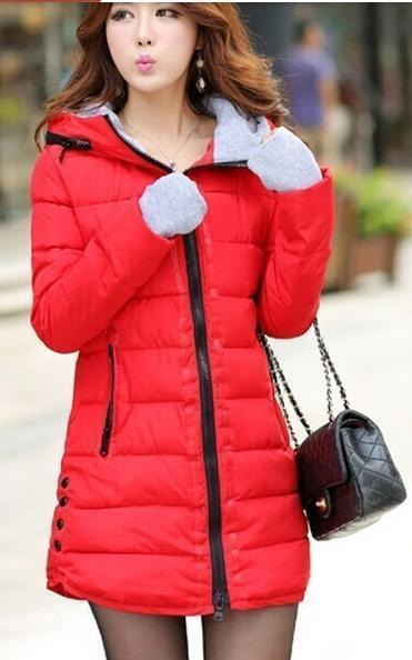 Winter Jacket Women Winter And Autumn Wear High Quality Parkas Winter Jackets Outwear Women-Jackets & Coats-Large Size Men Women Clothes Store-red-S-MostlyShades.com
