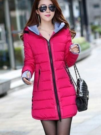 Winter Jacket Women Winter And Autumn Wear High Quality Parkas Winter Jackets Outwear Women-Jackets & Coats-Large Size Men Women Clothes Store-rose red-S-MostlyShades.com