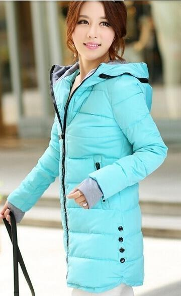 Winter Jacket Women Winter And Autumn Wear High Quality Parkas Winter Jackets Outwear Women-Jackets & Coats-Large Size Men Women Clothes Store-sky blue-S-MostlyShades.com