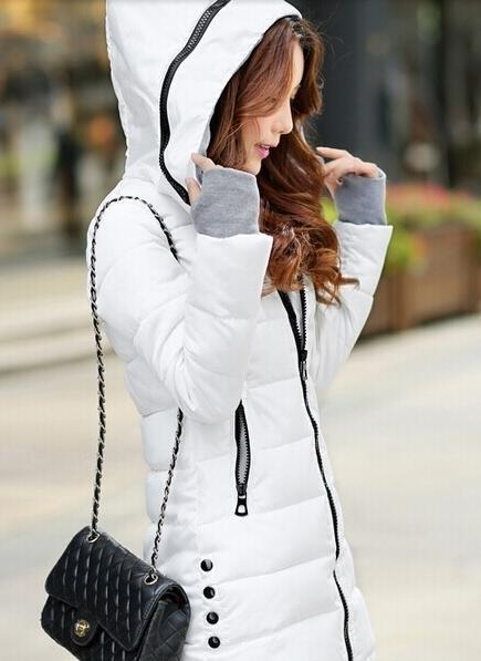 Winter Jacket Women Winter And Autumn Wear High Quality Parkas Winter Jackets Outwear Women-Jackets & Coats-Large Size Men Women Clothes Store-white-S-MostlyShades.com
