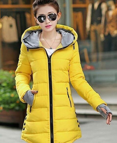 Winter Jacket Women Winter And Autumn Wear High Quality Parkas Winter Jackets Outwear Women-Jackets & Coats-Large Size Men Women Clothes Store-yellow-S-MostlyShades.com