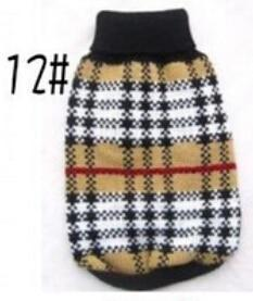 Xs Xxl Hot Cheap New Dog Sweater Pet Sweater Various Colors Dog Knitted Coat For Small Dogs-Dog Sweaters-Petalk Store-12-XS chest28cm Back17-EpicWorldStore.com