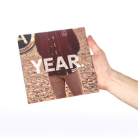 "All Year, Every Year: Fall. 7"" see through red vinyl EP."