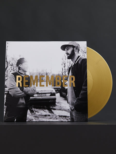 "Professor P & DJ Akilles - REMEMBER. Album on 12"" gold vinyl"
