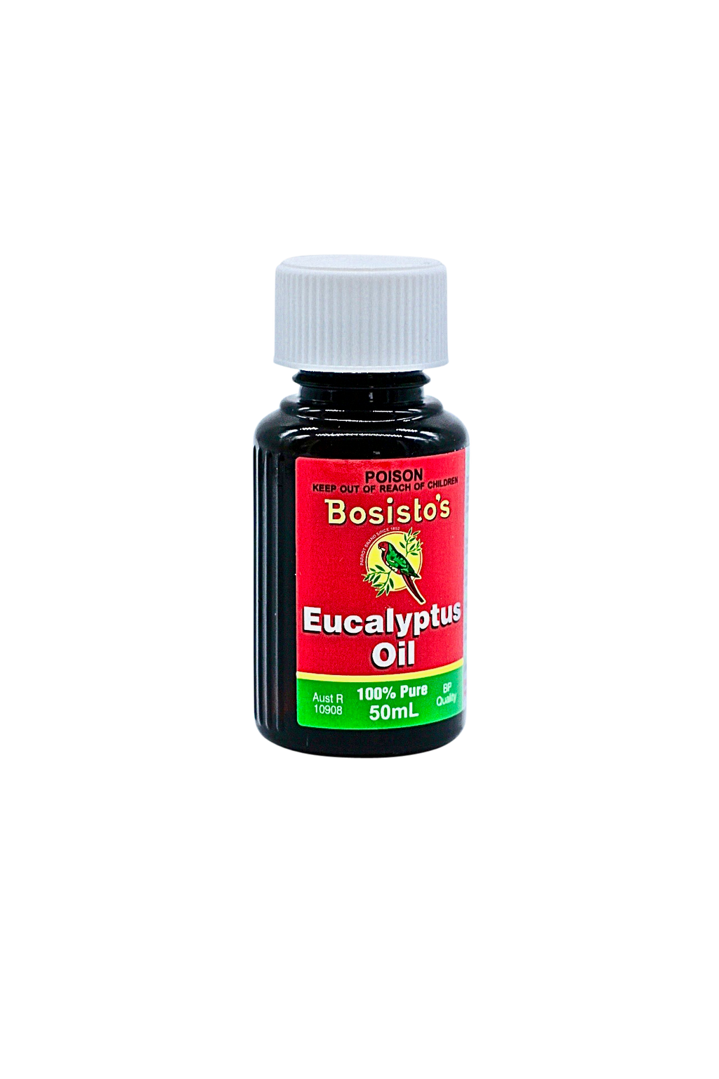 Bottle pure eucalyptus oil