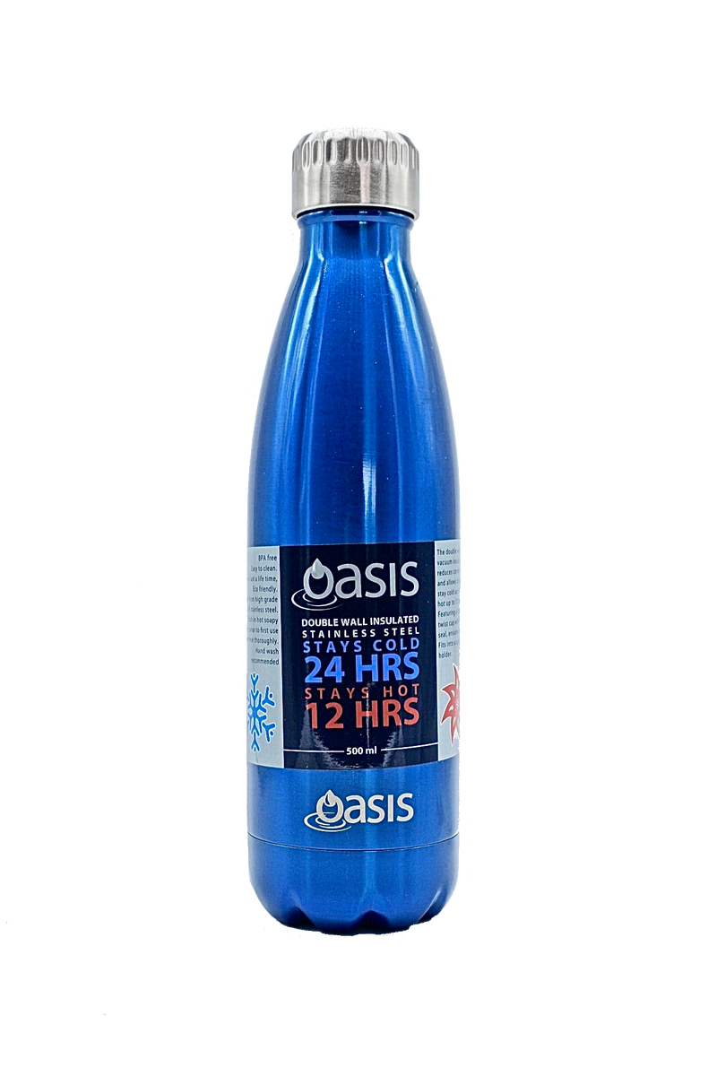 Stainless Steel water bottle 500ml, Oasis