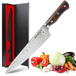 Imarku 8 Inch Pro Kitchen Knife - Japanese Damascus Chef Knife