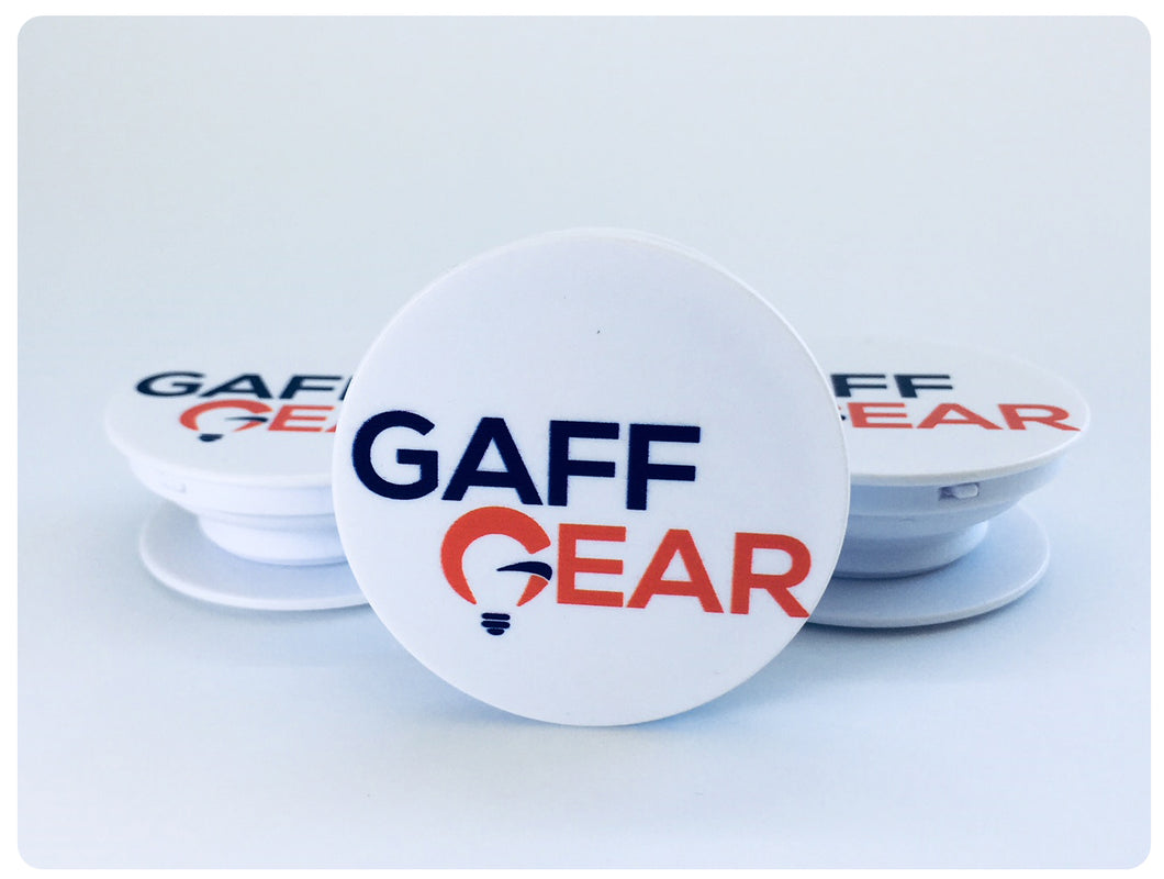Gaff Gear Logo Popsocket for Mobile Phones
