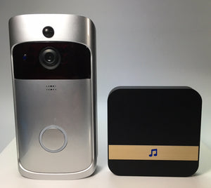 Video Doorbell works with Smart Phone over the Internet
