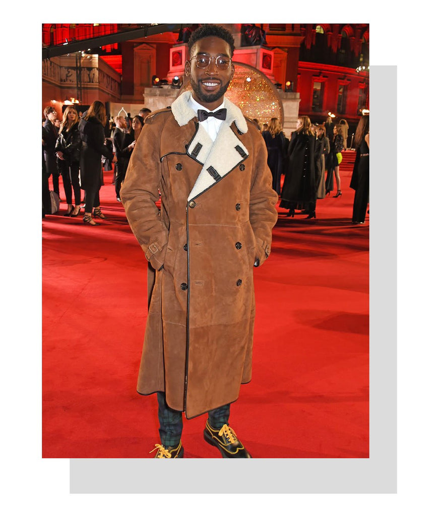 Tinie Tempah in Dries van Noten