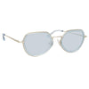 Dries Van Noten 186 C2 Angular Sunglasses
