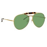 Dries Van Noten 187 C5 Aviator Sunglasses
