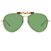 Dries Van Noten 188 C5 Aviator Sunglasses