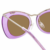Dries Van Noten 193 C4 Cat Eye Sunglasses