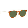 Linda Farrow Linear 01 C11 D-Frame Sunglasses