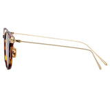Linda Farrow Linear 01 C9 D-Frame Sunglasses