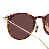 Linda Farrow Linear 03 C11 D-Frame Sunglasses