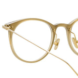 Linda Farrow Linear 03 C8 D-Frame Optical Frame