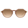 Linda Farrow Linear Wren A C10 Angular Sunglasses