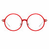 Linda Farrow Linear Savoye A C6 Round Optical Frame