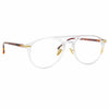 Linda Farrow Linear Ando C4 Aviator Optical Frame