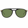 Linda Farrow Linear Ando C5 Aviator Sunglasses