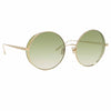 Linda Farrow Lockhart C9 Round Sunglasses