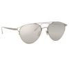 Linda Farrow Omar C2 Aviator Sunglasses