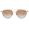 Linda Farrow Omar C5 Aviator Sunglasses